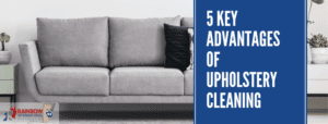 5 Key Advantages of Upholstery Cleaning