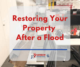 restoring a property after a flood